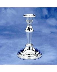 Classic Tall Candlestick With Bead Edge