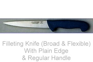 Filleting Knife (Broad & Flexible)