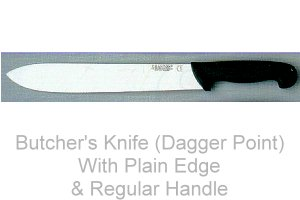 Butcher's Knife (Dagger Point)