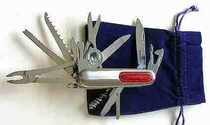 Multi-Function Pocket Knife & Tool Set