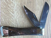 Farmers & Clippoint Blades, Cocobolo Handle